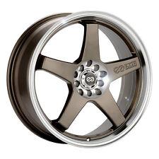 """17"""" Enkei EV5 Wheel Rim - Bronze 17x7 4x100 4x108 +45 446-770-1145ZP"""