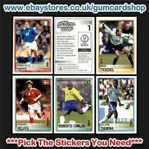 Panini Road to World Cup 2002 (76 to 150) *Select the Stickers You Need*