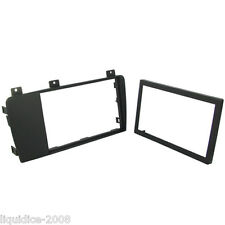 CT24VL08 VOLVO S60 2004 to 2009 BLACK DOUBLE DIN CAR FASCIA ADAPTER FRAME
