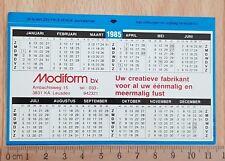 Sticker / Autocollante / Aufkleber / Decal 1985 Modiform bv Leusden