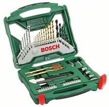 Bosch 50 piezas conjunto de accesorios de línea x Brocas poco Nuevo Libre P&P