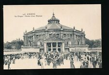 France Picardy AMIENS Circus Le Cirque Sortie d'une matinee c1900s? PPC