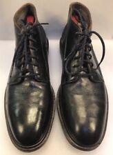 Cole Haan Men 9.5 M / D Cranston Water Resistant Chukka Boots Navy Blue Leather