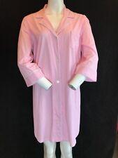 BNWT RALPH LAUREN Pink & White Stripe Soft Cotton Night Shirt Size L Gift Idea