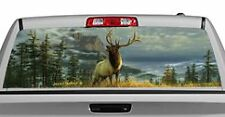 Truck Rear Window Decal Graphic [Deer / High Mountain Elk] 20x65in DC68808