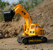 7 Channel fonctionnel complet Excavatrice Digger Electric RC Télécommande JCB style
