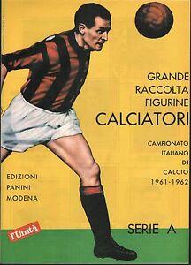 Figurine Panini anastatica l'unità  17 album 1961-62 - 1977-78 più 1982-83