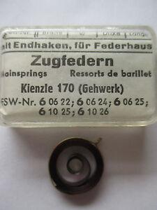 KIENZLE Feder 3,40 mm Aufzugfeder Zugfeder Uhr Wecker Reisewecker clock spring