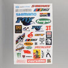 4x BMX MTB Mountain Bike Cycling Bicycle Decal Cool Sheet Stickers Sticker HOT
