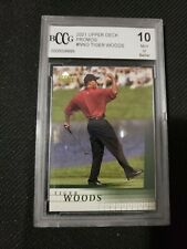 2001 Upper Deck National VIP Promo #TW Tiger Woods PSA 10 Gem Mint  or grater