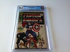 Captain America 100 Cgc 4.5 1St Issue Jack Kirby Black Panther Marvel Comics