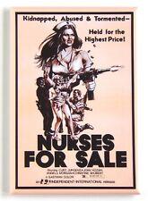 Nurses For Sale FRIDGE MAGNET (2.5 x 3.5 inches) movie poster nurse nursing