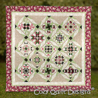Starry night Quilt pattern - cozy quilt designs