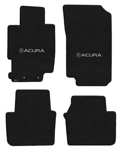 New! 1995 - 2014 Acura TL Custom Carpet Floor Mats 4pc Set Embroidered Logo 4pc