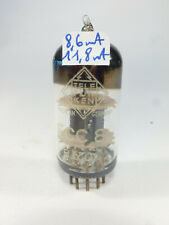 one Telefunken TFK blue glass base 12AT7 ECC81, preamplifier tested audio tube