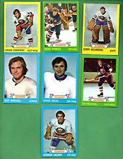 1973 - 1974 Topps Hockey Set NEW YORK ISLANDERS Near Team Set Lot