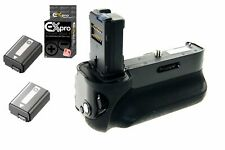Ex-Pro Vertical Battery Grip for Sony Alpha A7 A7r A7s VG C1EM + 2x NP-FW50
