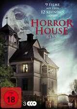 9 Haus Horrorfilme HORROR HOUSE BOX Amityville SHINING Winchester SALEM DVD Neu