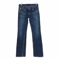 Big Star Jeans Boot Cut Womens Jean Size 26 L Denim Thick Stitch Medium Wash