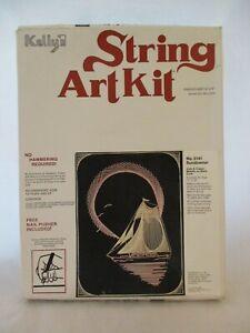 String Art Craft Mega Activity Set for Kids Makes 4 Large String Canvas Boards