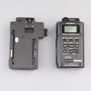 **USED**SONY HVR-MRC1 Memory Recording Unit + HVRA-CR1 eBay#0815