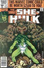 Savage She-Hulk #8 FN 1980 Stock Image