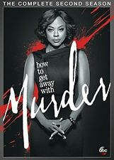 How To Get Away With Murder: Complete Season 2 - 4 DISC SET (2016, DVD NEW)