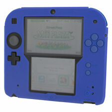 Silicone case for 2DS Nintendo protective soft gel bumper case ZedLabz - Blue