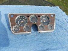 1968-1972 Chevy truck speedometer gauges instrument cluster