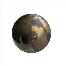 Pirita De Hierro piritas Bola De Cristal Adivinación Adivinación Fortuna Esfera 55mm 400g PY6