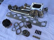 BMW M30 T4 Turbo Manifold/Tial 44mm MVR wastegate   E30/E32/E34/E28/E24/E23/E9