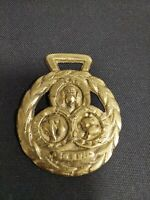 Horse Harness Brass Medallion Bridle Ornament BELL