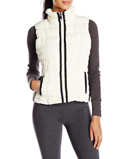 Marc New York Performance Women's Straight-Zip Vest, Large, Ivory - NEW