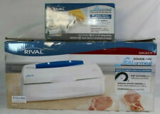 Rival Seal-A-Meal VS100 One Touch Vacuum Food Sealer w/ Bag Roll Asst Included
