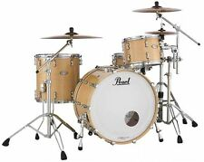 Pearl Reference Pure Drum Set Natural Maple 24x14 13x9 16x16 Plus Bags & US Ship