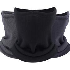 Windproof Neck Gaiter Winter Soft Warm Thermal Fleece Face Mask for Men & Women