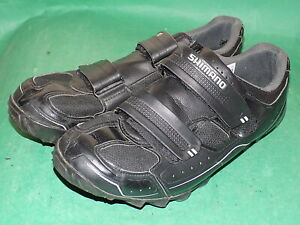 SHIMANO SPD  Mens Black Cycling shoes size 45 UK 9 to 10 Pre-owned