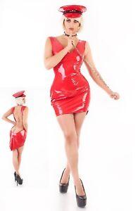Me Seduce Kajsa Red Dress Size L/XL