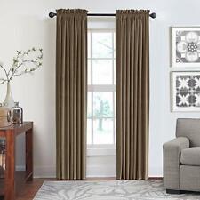 Veratex Contemporary Luxury 100% Cotton Velvet Rod Pocket Window Panel, 108in