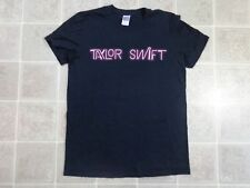 TAYLOR SWIFT 1989 World Tour T-SHIRT Mens Small 2-Sided Cities Dates Neon Sign S