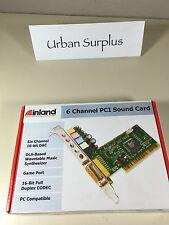 Inland  6 Channel PCI Sound Card