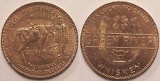 Médaille Etats-Unis, Green River Whiskey token, vers 1930, SUP !!