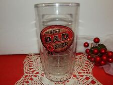 Tervis Tumbler  The Best Dad Ever 1st Hallmark 16oz Mint condition