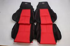 Custom Made 1989-1993 C4 Corvette Real Leather Seat Covers 40th anniversary