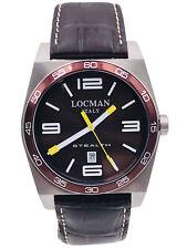 Orologio Locman Stealth DATA Quarzo 208BRP/295 Pelle Scontatissimo Nuovo
