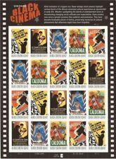 Vintage Black Cinema Sheet of Twenty 42 Cent Postage Stamps Scott 4336