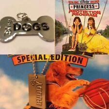 Disney DOGS Tag & Necklace BUDDY & Necklace Princess Selena