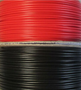 60m DCC Layout wire - Track Bus 32/0.2 30m of Red and 30m of Black