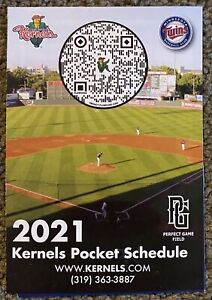 2021 Cedar Rapids Kernels Schedule ⚾️ Cool Minor League Baseball Sked ⚾️ Beer 🍻