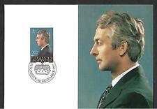 LIECHTENSTEIN 1984 SET 2 MAXIMUM CARDS, #799/800 PRINCESS AGLAE & PRINCE ADAM !!